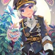 二次 軍服のカッコ可愛い女の子