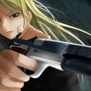 二次 銃持ってる女の子