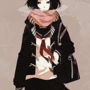 二次 冬服制服女子