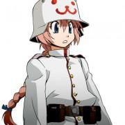二次 軍服の女の子