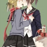 二次 百合のキス