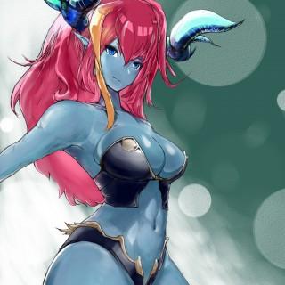 青肌娘の二次エロ