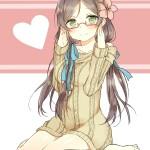 二次 眼鏡っ娘はやっぱり可愛いwww