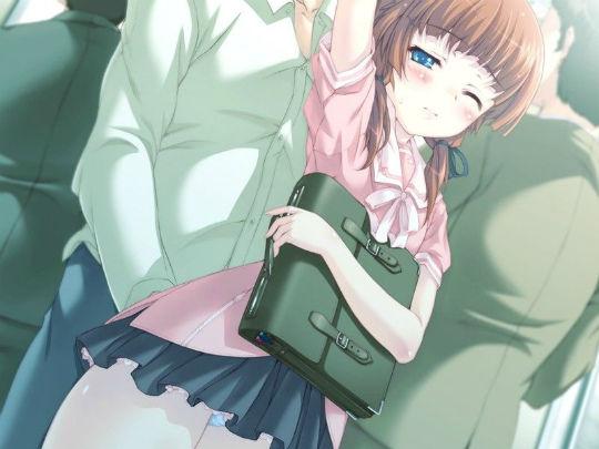 制服美少女の二次エロ