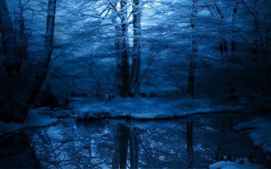 暑い夜も爽やかな気分になれる幻想的な二次画像